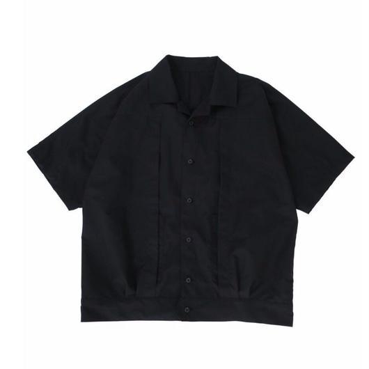 TWO-PLY C/P SHIRT / BLACK