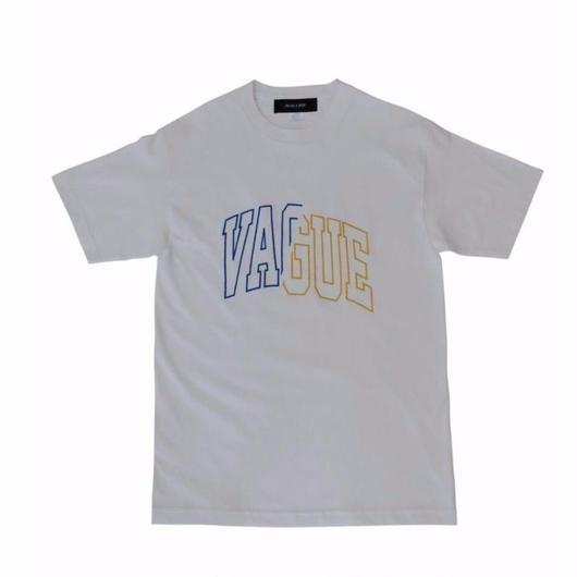 ST03  COLLEGE T-SHIRT / WHITE