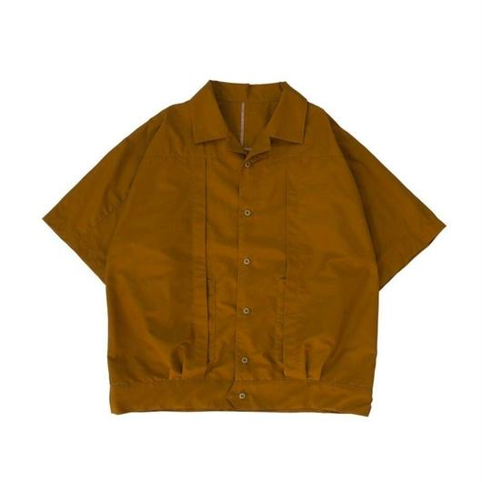 TWO-PLY C/P SHIRT  / CAMEL