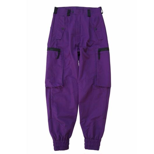CM-SYD TROUSERS-02 / PURPLE