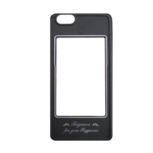 iPhone6専用カバー(ブラック×シルバー)