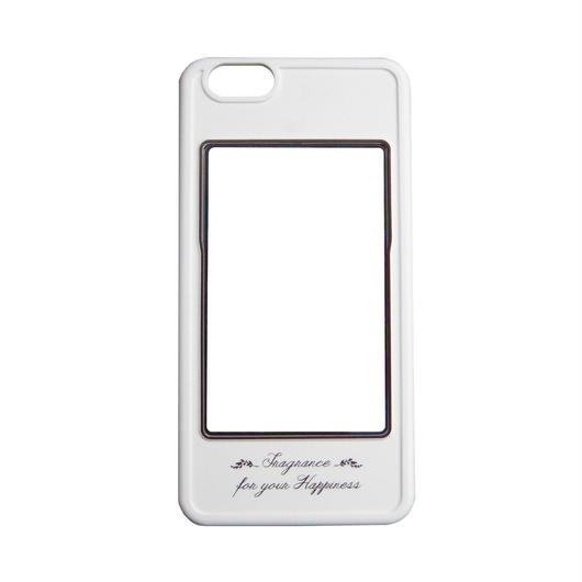 iPhone6専用カバー(ホワイト×ブラウン)