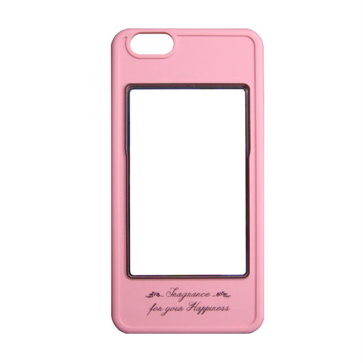 iPhone6専用カバー(ピンク×ブラック)
