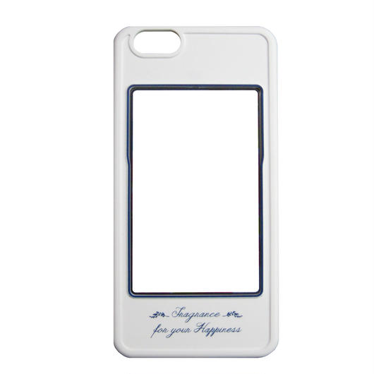 iPhone6専用カバー(ホワイト×ブルー)