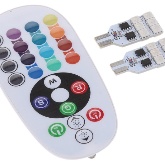 T10 RGB LED リモコンセット