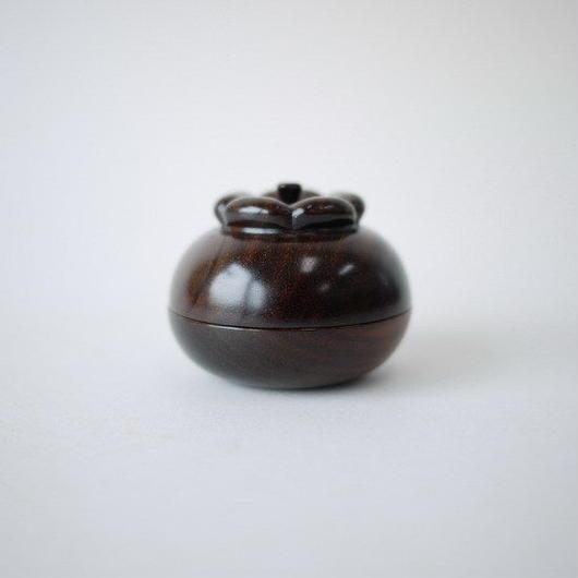 【SALE】紫檀 柿蓋物