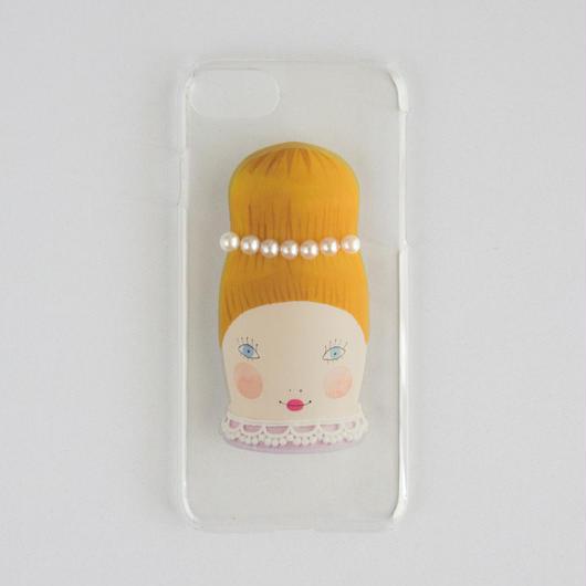 iphone6/6Sケース クリア マドモアゼル