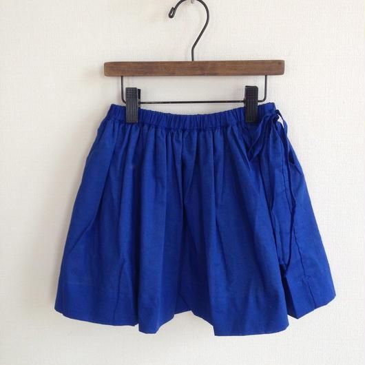 muu muu REVERSIBLE cotton 2枚重ねスカート