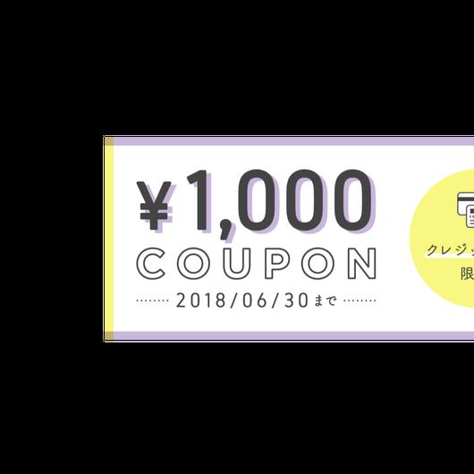 *御礼クーポンです。¥1000引きです。H30/6/30まで。クレジットカード決済のみです。¥5000以上購入で使えます。クーポン記号(coupon1806)を入力ください。