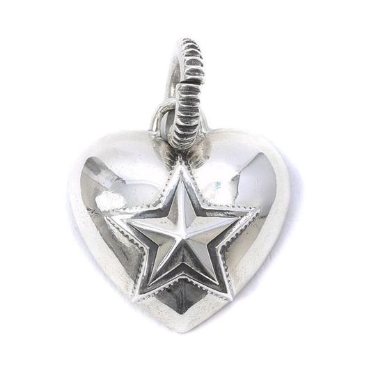 Pendant Heart & Sheriff Star