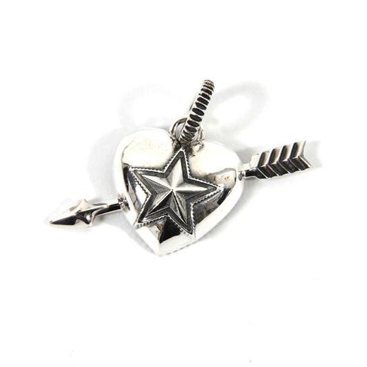 Pendant Heart & Sheriff Star 1 Arrow