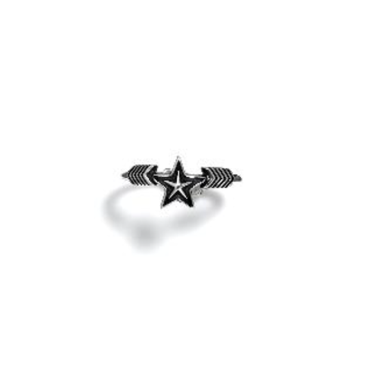 Ring Double Arrow Small Star