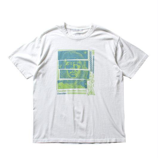 LIBERAIDERS -  CHE SOLAR TEE  (ホワイト)