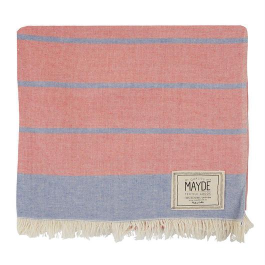 MAYDE - COTTESLOE TOWEL - RED / BLUE