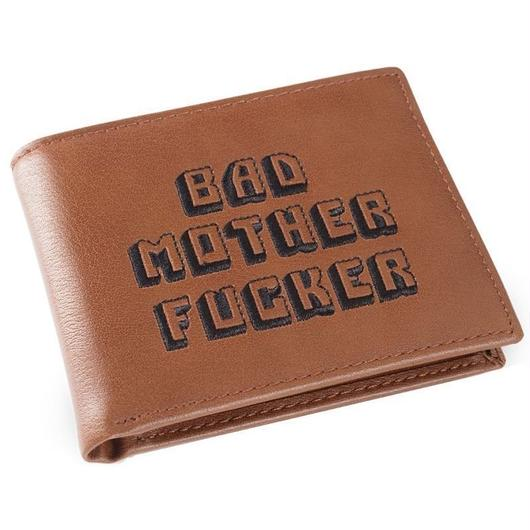 MOTHER FUCKER WALLET WITH COIN CASE (ブラウン)