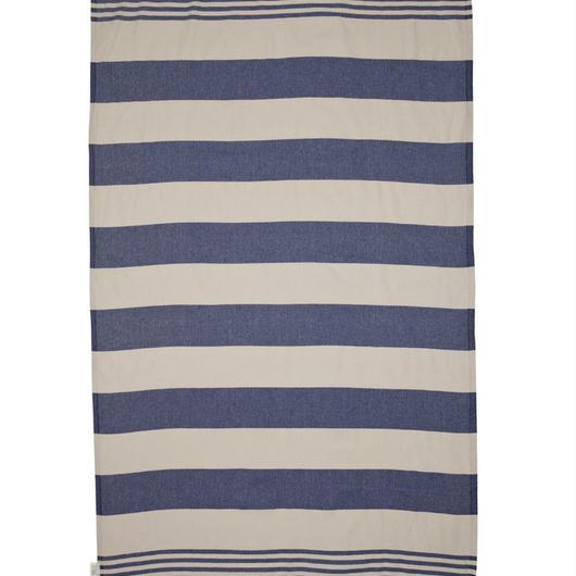 MAYDE - KIRRA TOWEL - NAVY/ BEIGE