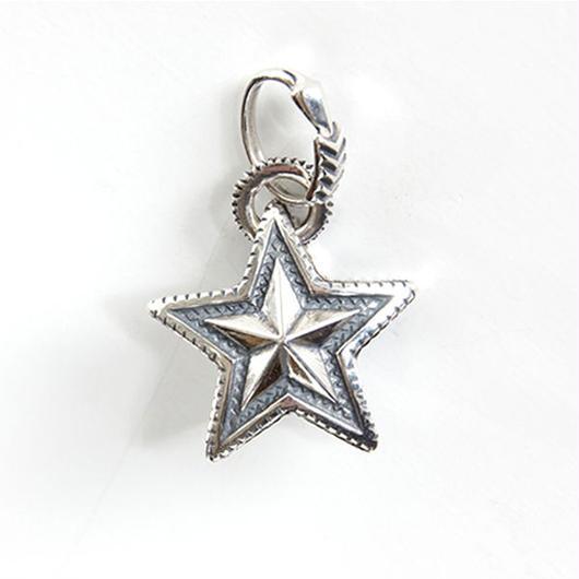 Pendant Reversible Star w/Arrow Bail