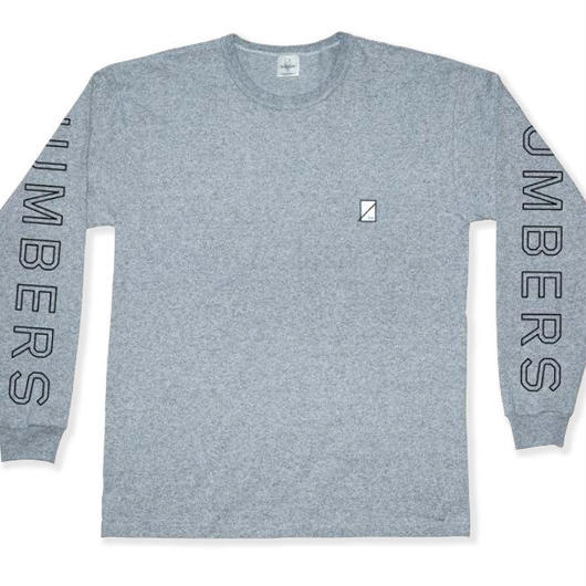 NUMBERS edition - OUTLINE WORDMARK-PREMIUM L/S T-SHIRT