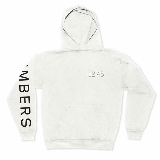 NUMBERS edition - WORDMARK HOODED JERSEY PULLOVER