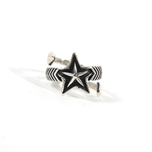 Ring Double Large Arrow Large Star