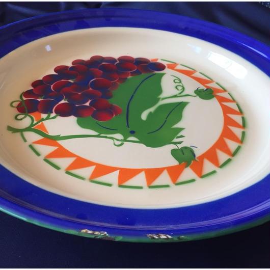 ホーロー飾り皿