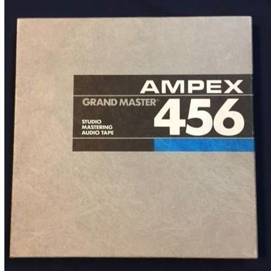 アンペックス 456  グランドマスター・アナログ・テープ
