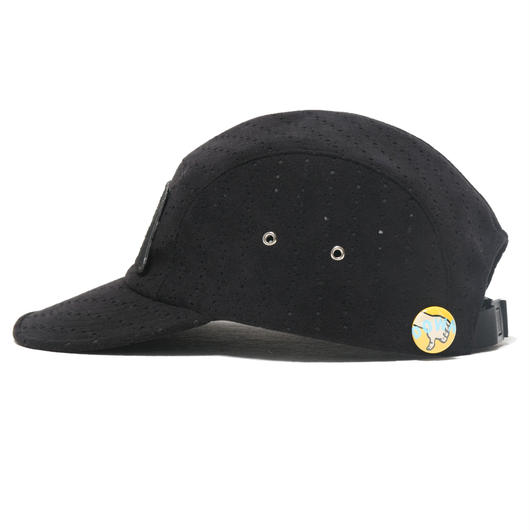 【SALE】Punching fake suede - jet cap / col.blk