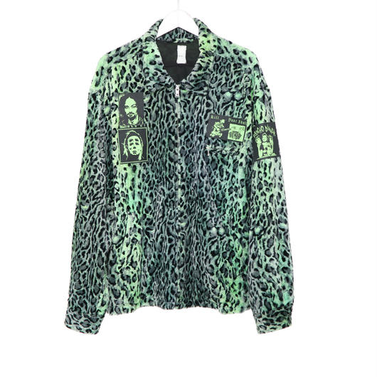 【SALE】Leopard pattern swing top