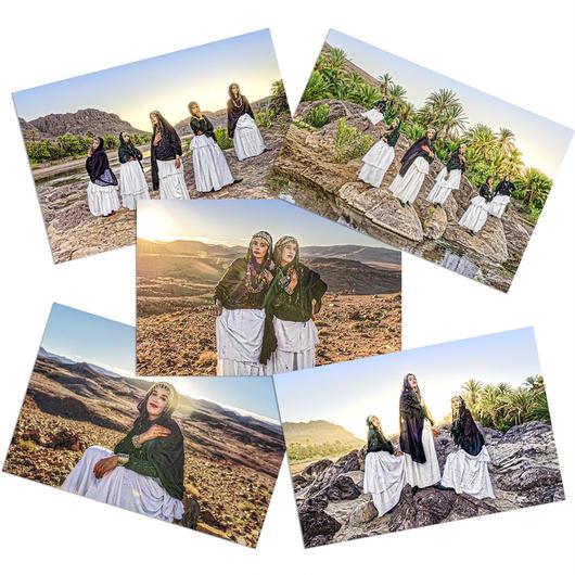 【ポストカード】Berber Collection  5枚セット