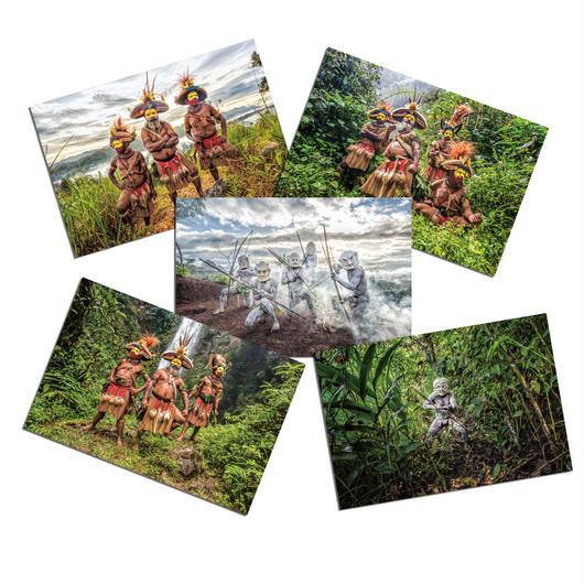 【ポストカード】Huli&Mudman Collection  5枚セット
