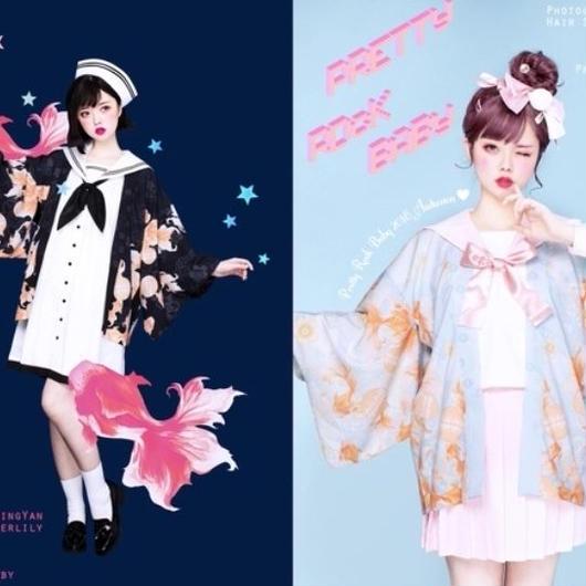 【ご予約】金魚の羽織【2019年1月発売】