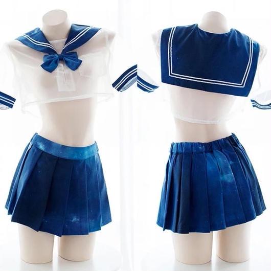 【お取り寄せ】シフォンコスモセーラー服