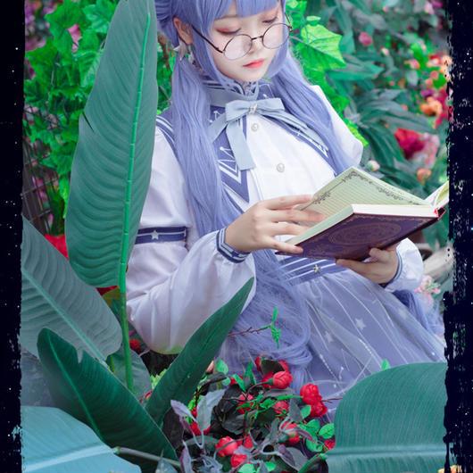 【取寄】ミラクルニキ風コスプレ衣装★星座図書館セットアップ