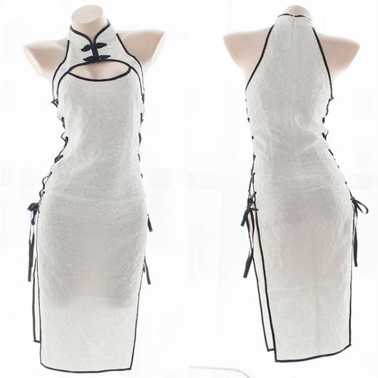 【お取り寄せ】サイドオープンチャイナドレス