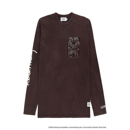 JOYRICH x Keith Haring Patch L/S Tee / BLACK