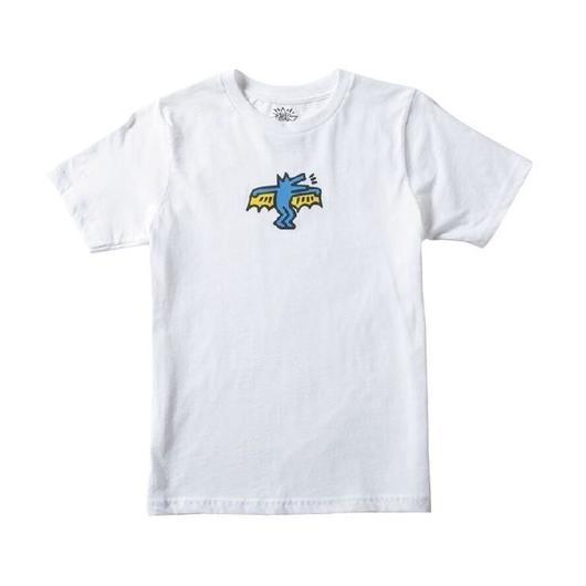 Keith Haring Bat Dog Kids T-Shirt White キース・ヘリング キッズ Tシャツ