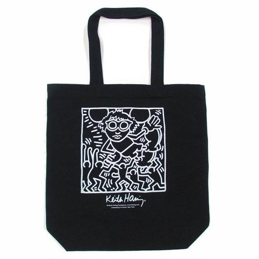 Keith Haring Tote Bag 【Black】 キース・ヘリング トートバッグ【ブラック】