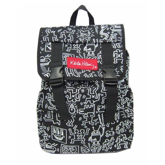 Keith Haring Bag Pack  BLACK①