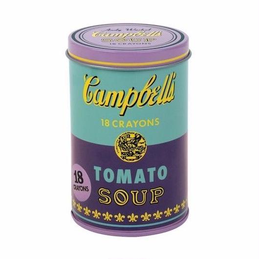Mudpuppy Andy Warhol  Soup Can Crayons