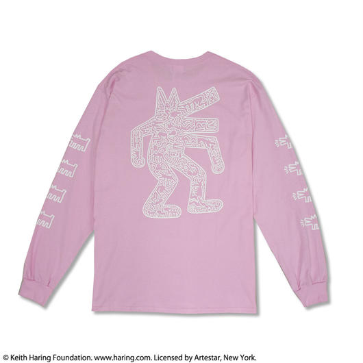 Nouno Keith Haring Print Long Tee Dog