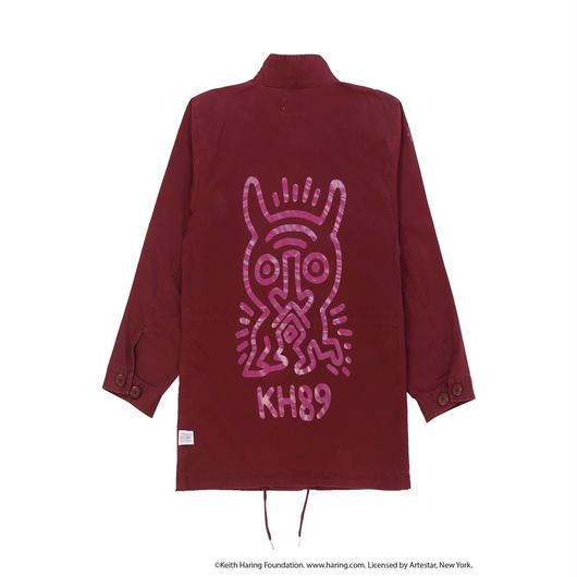 JOYRICH x Keith Haring M-65 Jacket / BURGUNDY