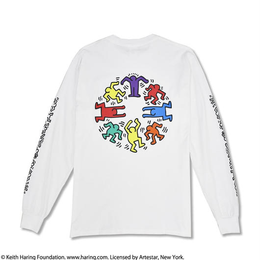 Nouno Keith Haring Print Long Tee Circle