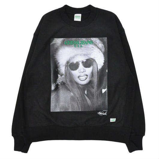 GUESS GREEN LABEL Grace Jones Sweater (Black)