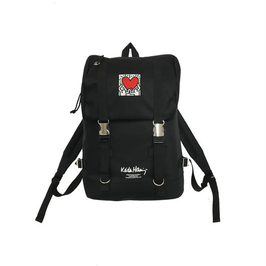 Keith Haring Bag Pack  (Holding Heart)