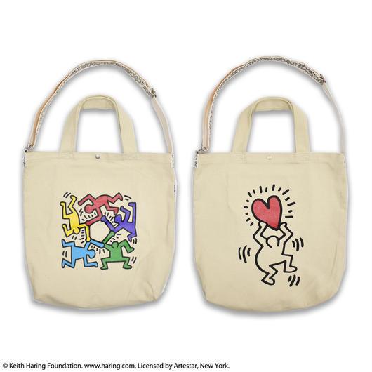 Keith Haring  Canvas Big Shoulder Tote Bag  キース・ヘリング キャンバスビッグショルダーバッグ