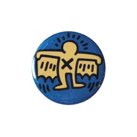 Keith Haring Round Magnet (Batman)