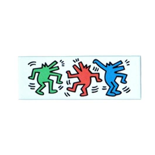 Keith Haring Long Magnet (Dancing Dogs)