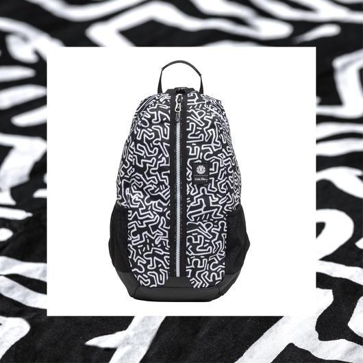 Element  Keith Haring  Jaywalker Backpack