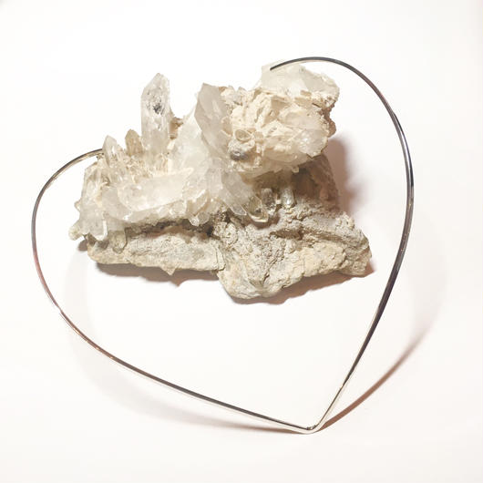 Silver choker  (V)