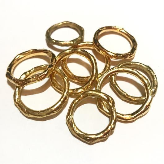 【受注商品】Grain ring <gold> #16 - #20